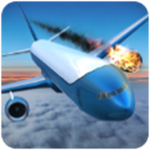 模拟飞机失事