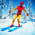 单板高山滑雪